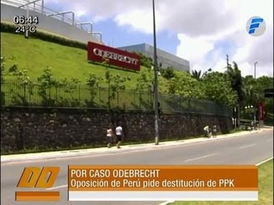 En Perú exigen la destitución de Presidente Pedro Pablo Kuczynski