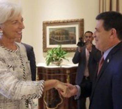 Titular del FMI destaca el fuerte desempeño económico de Paraguay
