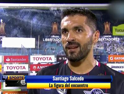 Santiago Salcedo fue la figura de Libertad