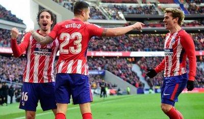 Atlético acaricia los cuartos de Europa League