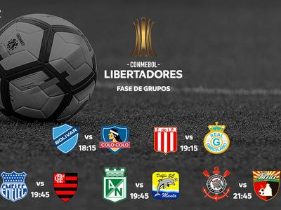 La Libertadores prosigue este miércoles