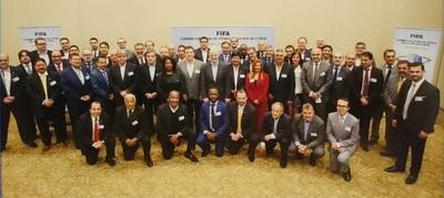 Robert Harrison participó en Cumbre Ejecutiva de la FIFA