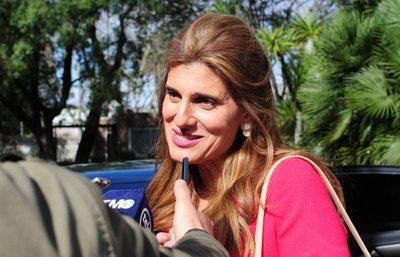 Princesa de Jordania visita Asunción