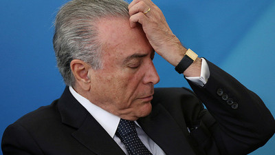 """Temer trata de """"extrema cobardía"""" el asesinato de concejal en Brasil"""