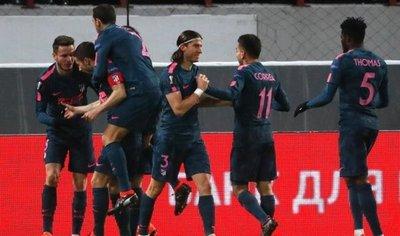 El Atlético de Madrid se mete en cuartos con doblete de Torres
