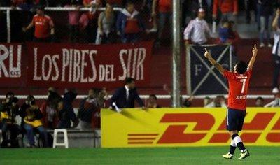 El Independiente consigue su primer triunfo en Copa