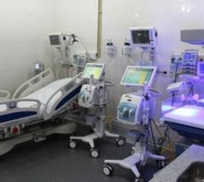 En todo el país hay tan solo 704 camas para terapia intensiva