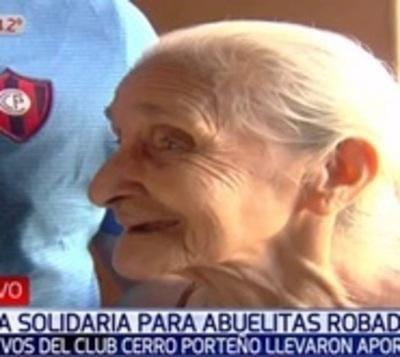 Abuela fanática recupera su sonrisa y está lista para ir a la cancha