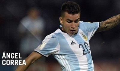 Ángel Correa es citado para amistosos de Argentina