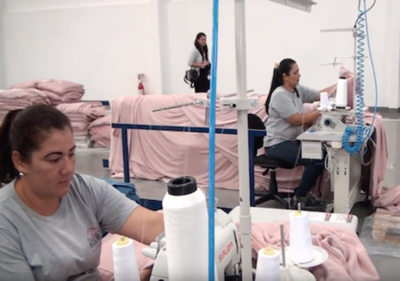Una de las fábricas textiles más grandes de Brasil ya funciona en Alto Paraná