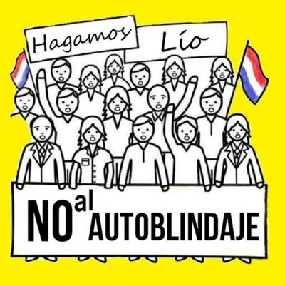 """Convocan a manifestación ciudadana para repudiar """"autoblindaje"""""""