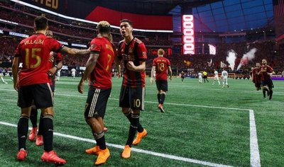Atlanta United de Almirón golea 4-1 a los Whitecaps