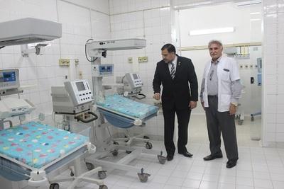 Sala de Cuidados Intensivos Neonatales del Hospital Barrio Obrero, renovada y con nuevos equipos