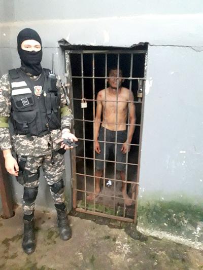 Detienen a presunto delincuente que portaba revólver de juguete