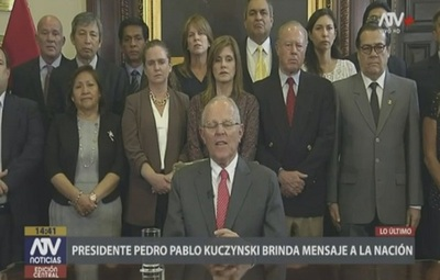 Presidente de Perú renuncia por escándalo de videos filtrados