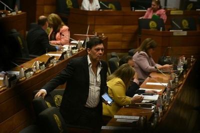 """Senadores abandonan sala para no tratar acta de """"blindaje"""""""
