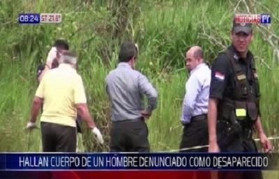 Hallan cadáver de hombre que se encontraba desaparecido