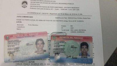 Tristeza y llanto de paraguayos detenidos en el Brasil