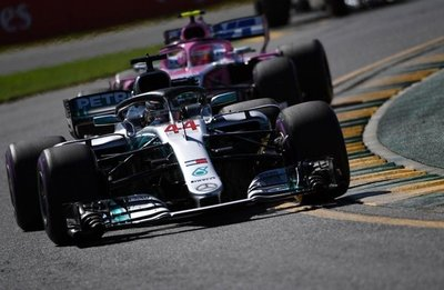 Hamilton, el más rápido en segundas pruebas