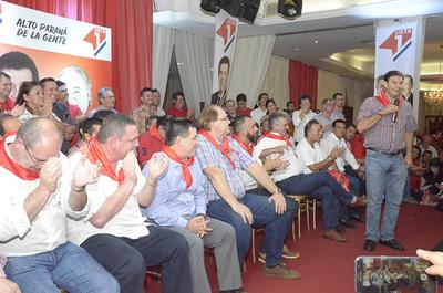 Cartes pondera unidad colorada y asegura que respaldará gestión presidencial de Mario Abdo