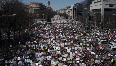 Protesta contra las armas en EE.UU. contó con más de un millón de personas