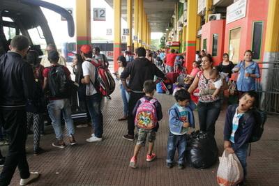 Terminal de Asunción registró 12% menos de movimiento