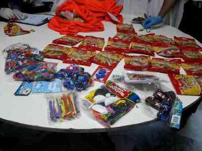 """Paquetes de """"caramelos"""" contenían cocaína"""