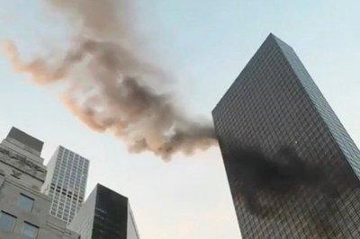 Un muerto y cuatro heridos por incendio en la Torre Trump