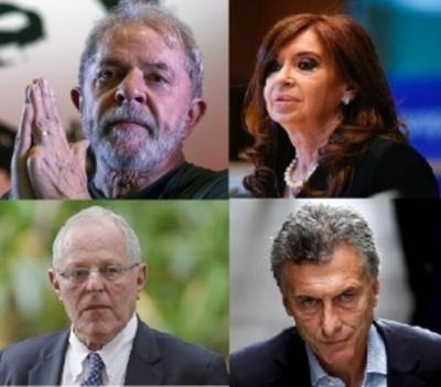 Izquierda y Derecha, sacudidas por corrupción