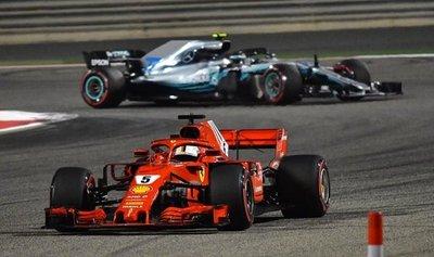 Sebastian Vettel gana el GP de Baréin