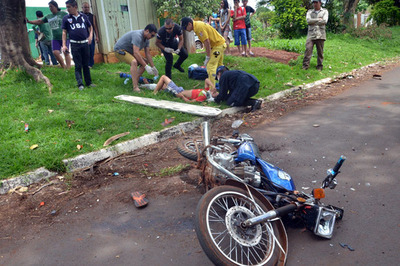 El 90% de las cirugías de cráneo son por accidentes en motocicletas