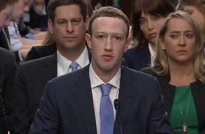 """Zuckerberg al Senado: """"No hicimos bastante. Es mi error. Lo siento"""""""