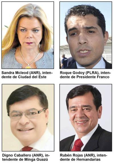 CDE, Franco y Hernandarias aplazados en transparencia