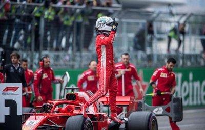 Vettel domina en China
