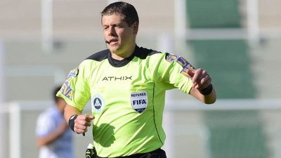 El árbitro de Cerro-Gremio