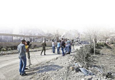 Siria, donde las potencias miden sus fuerzas