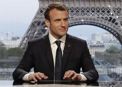 """Macron: """"Francia no declaró la guerra al régimen de Bashar al Asad"""