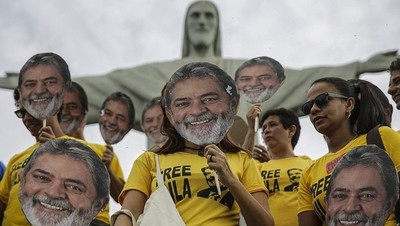 Pese a estar preso, Lula sigue siendo el candidato con mayor intención de voto