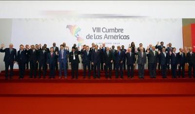 Sin bases fuertes sobre crisis en Venezuela, finaliza Cumbre de las Américas