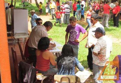 Se habilitarán 502 mesas para que voten 97.987 electores en el Amambay