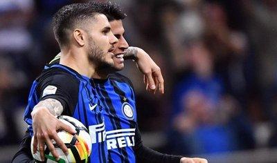 El Inter de Icardi golea al Cagliari y se hace con la tercera plaza