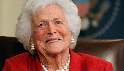 La ex primera dama Bárbara Bush muere a los 92 años
