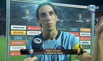 El capitán de Gremio destacó a la hinchada de Cerro
