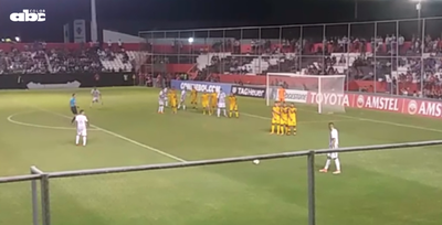 """El gol de """"Tacuara"""" desde las gradas"""