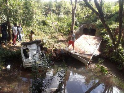 Dos personas mueren en accidente en Itapúa