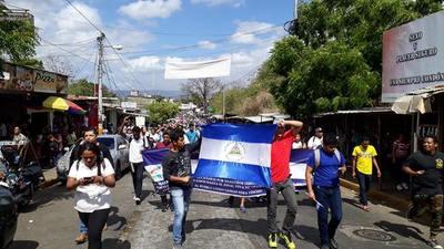 Protestas en Nicaragua deja varios heridos