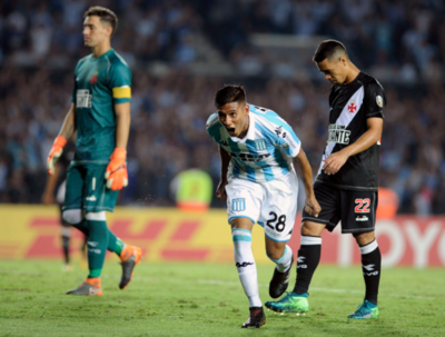 El Vasco cae presa de la dureza de Racing