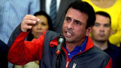 Solicitan prohibición de salida del país para Capriles