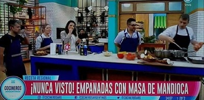 El pastel mandi'o argentino armó lío
