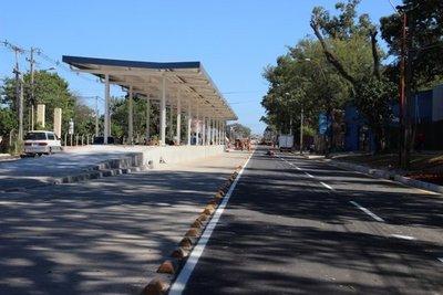 Metrobús: Se reabre paso sobre Mariscal Estigarribia